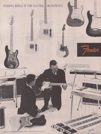 1958 Fender catalogue