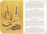 1966-67 Fender guitar and bass catalogue page 34