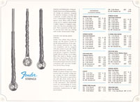 1966-67 Fender guitar and bass catalogue page 35
