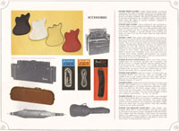 1966-67 Fender guitar and bass catalogue page 38