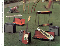 1968 Fender guitar and bass catalogue - page 12