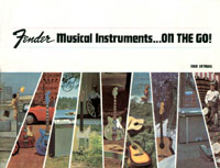 1968 Fender guitar and amplifier catalogue