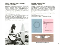 1968 Fender guitar and bass catalogue page 21