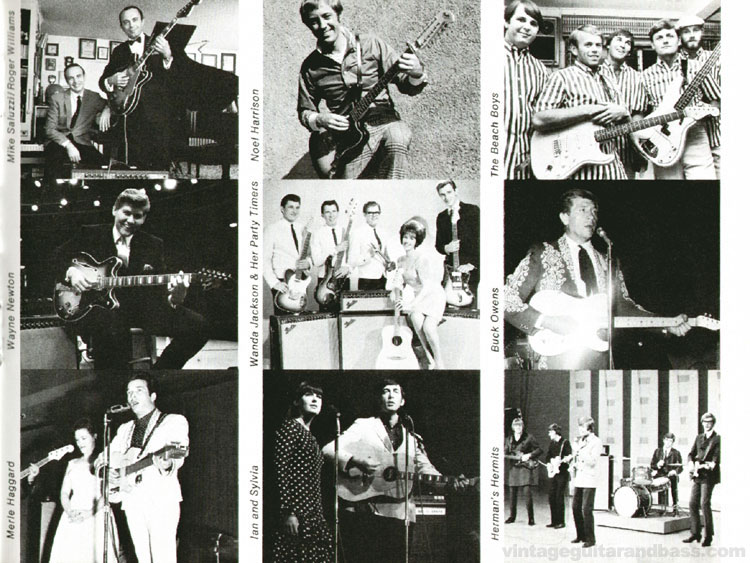 Fender Artists - 1968 Fender catalogue - page 29