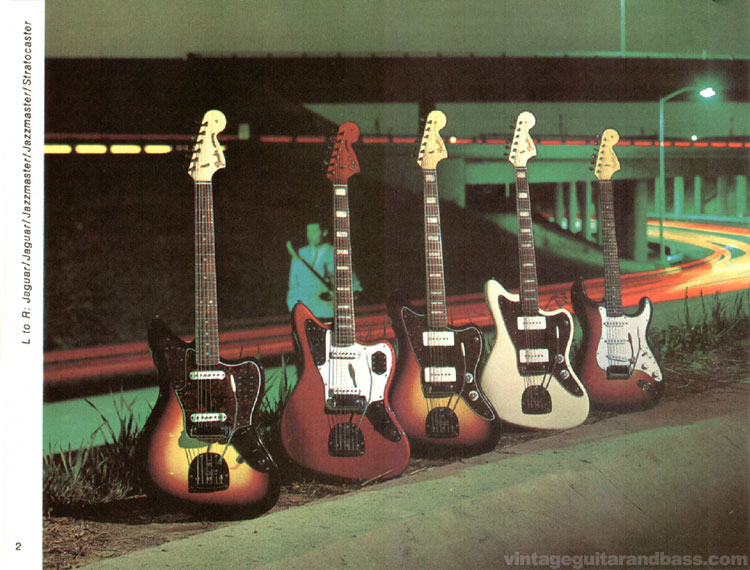 Fender Jaguar, Jazzmaster and Stratocaster - 1968 Fender catalogue - page 4