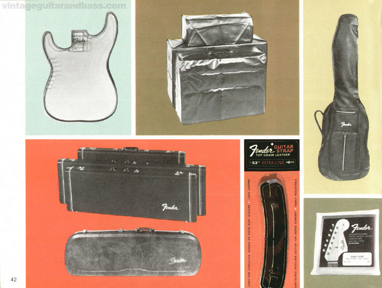Fender Accessories - 1968 Fender catalogue - page 44