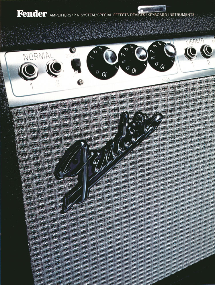 Fender Amplifiers - 1970 Fender catalogue - page 43