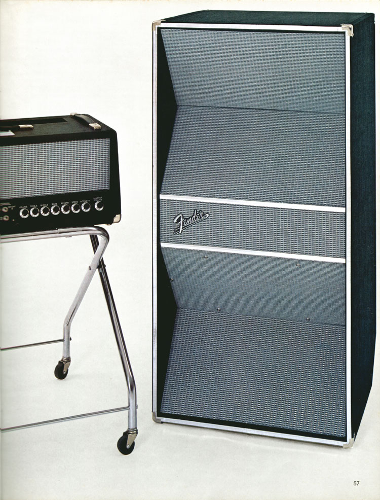 Fender PS Bass - 1970 Fender catalogue - page 57