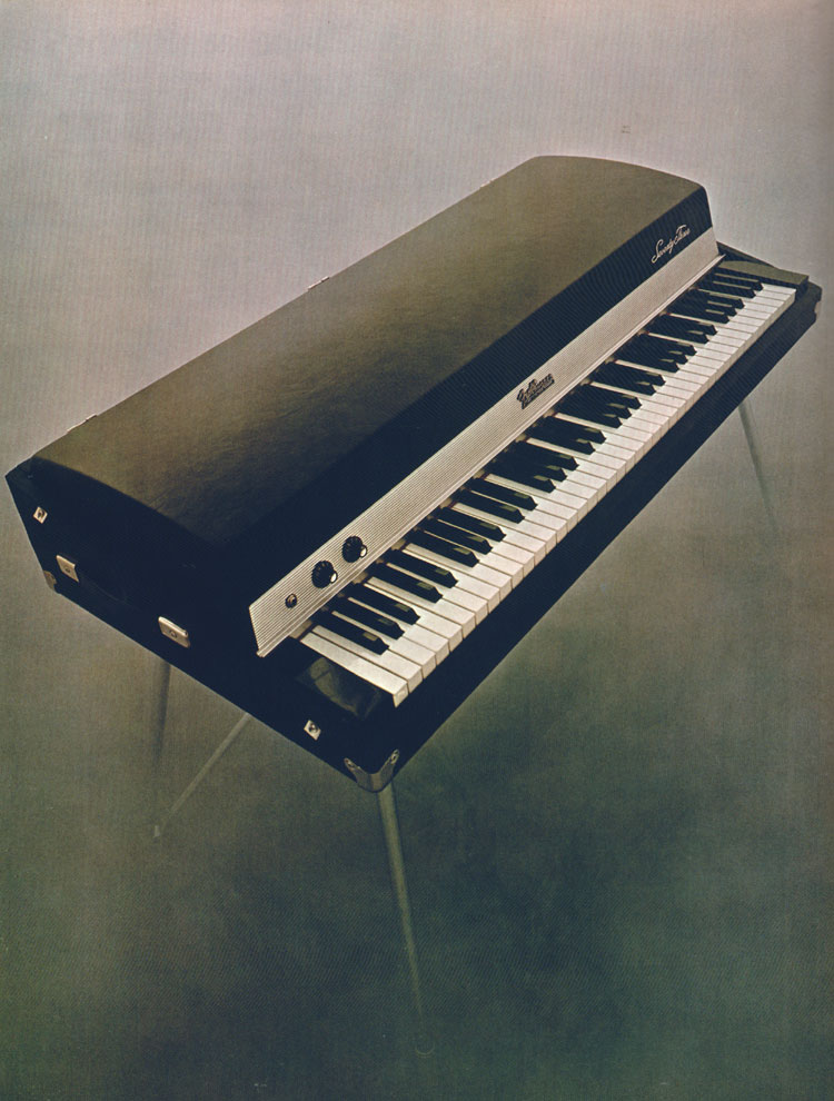 Fender Rhodes MK1 Stage Piano - 1970 Fender catalogue - page 72