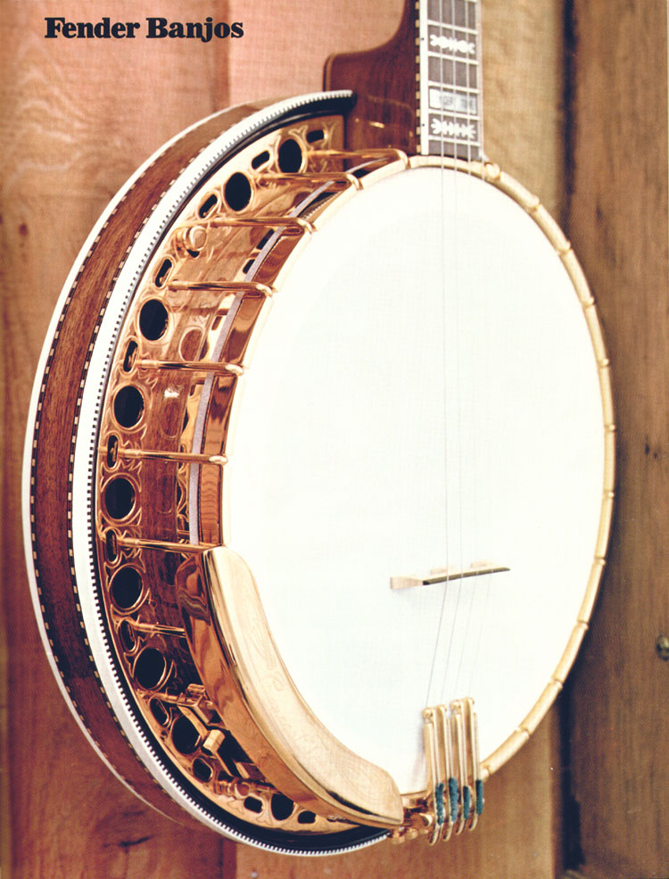 Fender Banjos - 1970 Fender catalogue - page 75