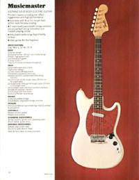 1972 Fender guitar and bass catalogue - page 14