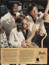 Fender Stratocaster - Its A Business Machine