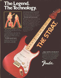 Fender The Strat - The Legend. The Technology.