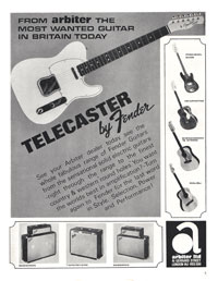 Fender Telecaster - From Arbiter the Most Wanted Guitar in Britain Today Telecaster by Fender