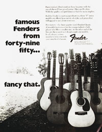 Fender Acoustics - Famous Fenders From Forty-nine Fifty