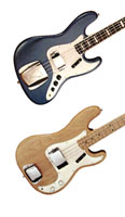 Fender Jazz and Precision basses
