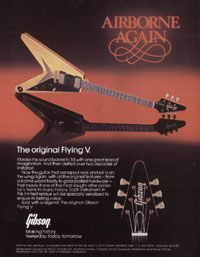 Gibson Flying V - Airborne Again. The original Flying V