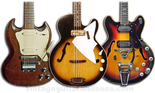 guitars value Vintage