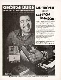 Musitronics Phasor - George Duke. Mu-tron III Plus Mu-tron Phasor