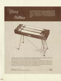1958 Gibson electric guitars and amplifiers catalogue page 20