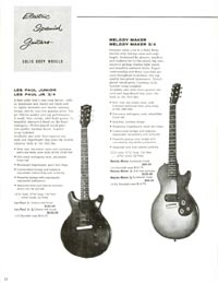 1960 Gibson guitar and bass catalogue - page 12