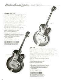 1960 gibson guitar and bass catalogue