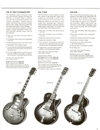 1960 Gibson guitar and bass catalogue - page 15