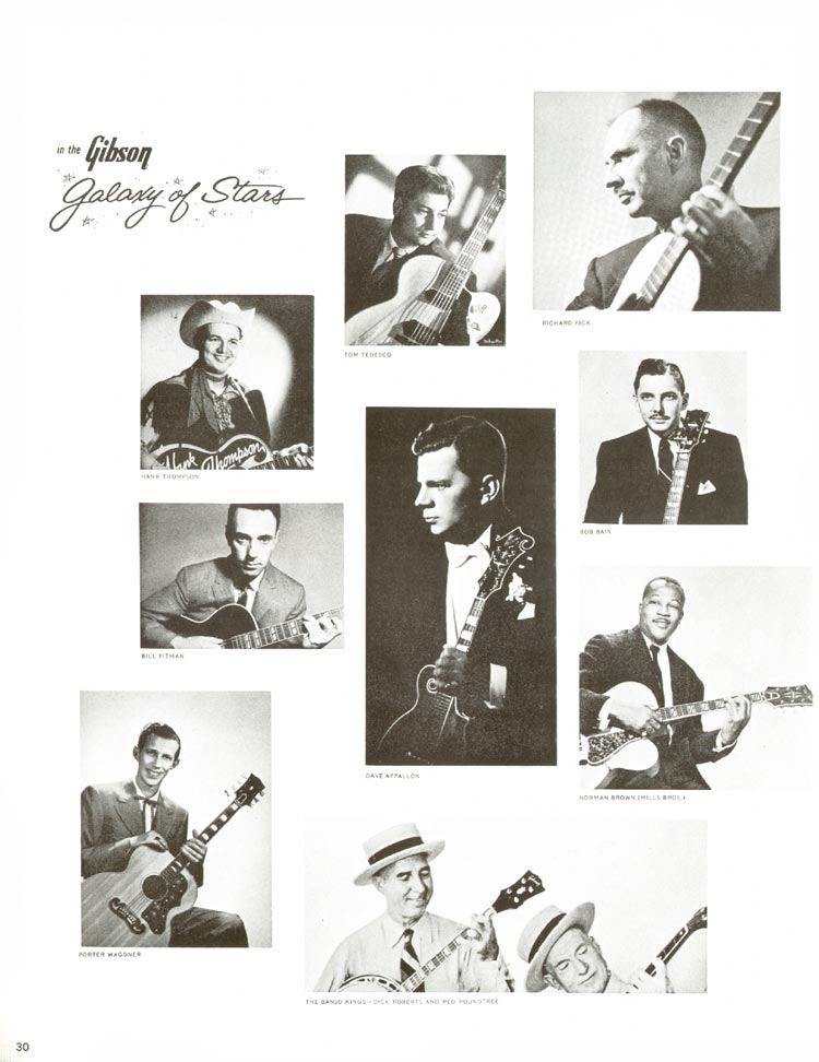 1960 Gibson guitar and bass catalogue - page 30