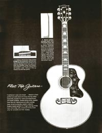 1960 Gibson guitar and bass catalogue page 31
