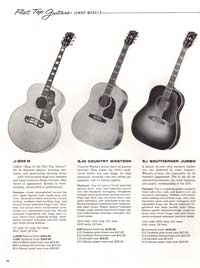 1960 Gibson guitar and bass catalogue page 32