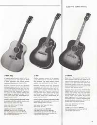 1960 Gibson guitar and bass catalogue page 33
