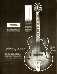 1960 Gibson guitar and bass catalogue page 36