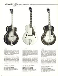 1960 Gibson guitar and bass catalogue page 38