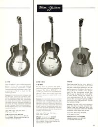 1960 Gibson guitar and bass catalogue page 39