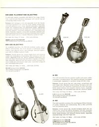1960 Gibson guitar and bass catalogue page 41