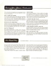 1960 Gibson guitar and bass catalogue page 43
