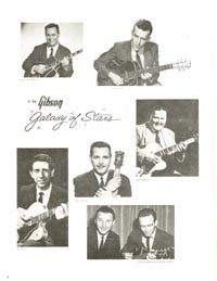 1960 Gibson guitar and bass catalogue - page 4