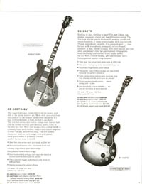 1960 Gibson guitar and bass catalogue - page 7