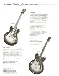 1960 Gibson guitar and bass catalogue - page 8