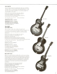 1960 Gibson guitar and bass catalogue - page 9