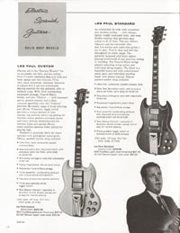 1962 Gibson guitar and bass catalogue - page 10