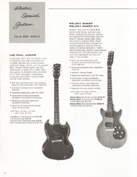 1962 Gibson guitar and bass catalogue - page 12