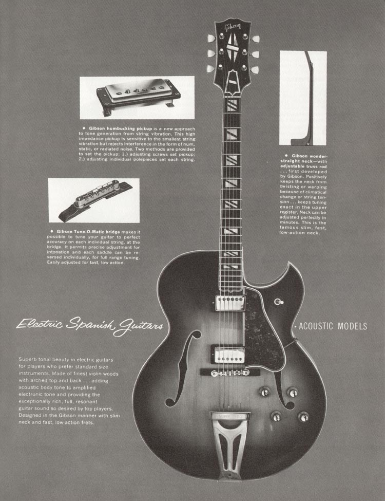 1962 Gibson guitar and bass catalogue - page 13