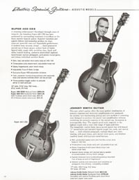 1962 Gibson guitar and bass catalogue - page 14