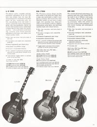 1962 Gibson guitar and bass catalogue - page 15