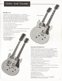 1962 Gibson guitar and bass catalogue - page 17