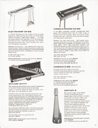 1962 Gibson guitar and bass catalogue page 19