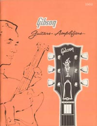 1962 Gibson guitar and bass catalogue - page 1