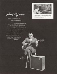 1962 Gibson guitar and bass catalogue page 20