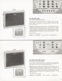 1962 Gibson guitar and bass catalogue page 21